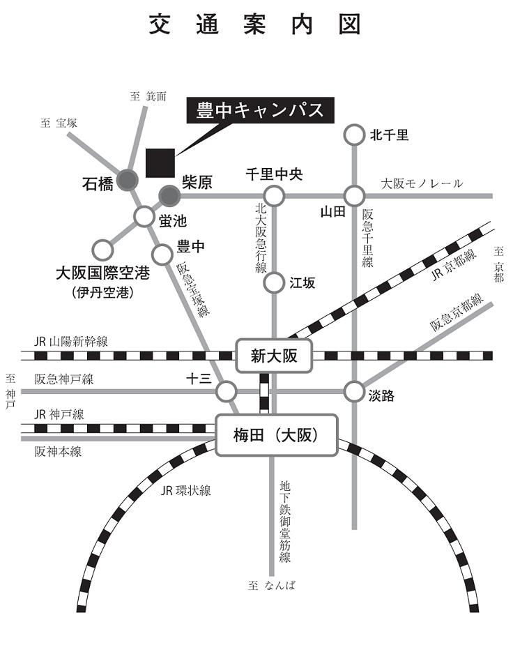 2013春季会場周辺案内図