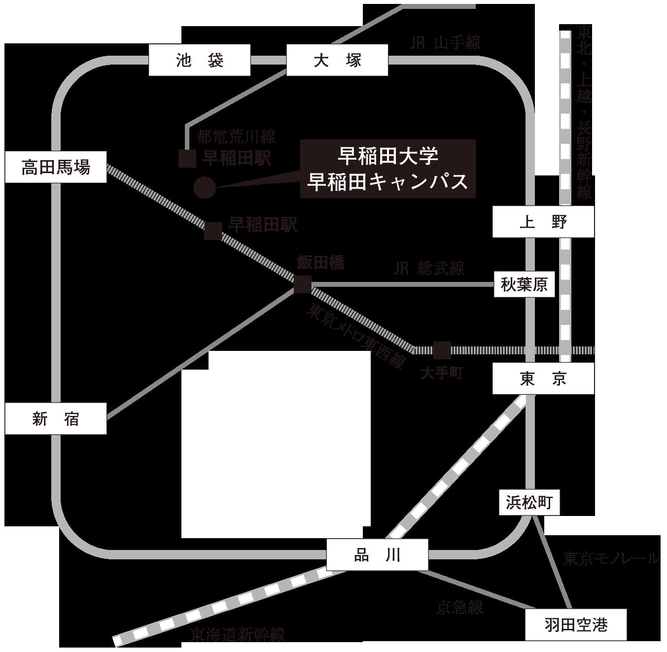 2014春季会場周辺案内図